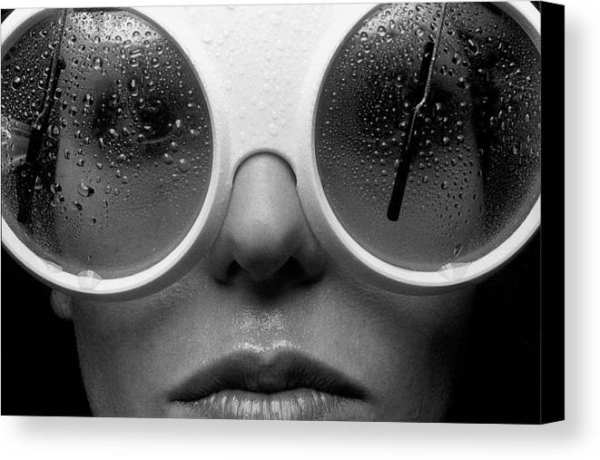 Babe Canvas Print featuring the photograph Misty by Sandy Ostroff