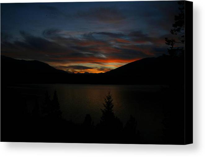 Sunsets Canvas Print featuring the photograph Mmmmmm by Taylor Howe
