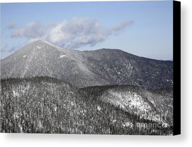 Hike Canvas Print featuring the photograph Mount Carrigain - White Mountains New Hampshire Usa by Erin Paul Donovan