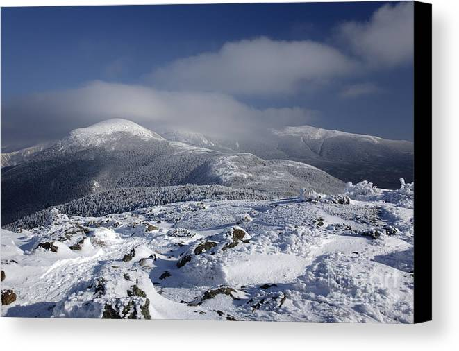 White Mountains Canvas Print featuring the photograph Mount Washington - New Hampshire Usa by Erin Paul Donovan