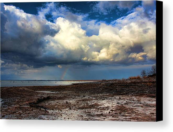 Storm Canvas Print featuring the photograph Nature by Carolyn Fletcher