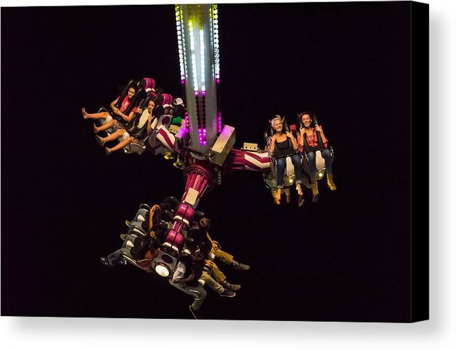 Canvas Print featuring the photograph Nemesis 360 by Jonathan Neale