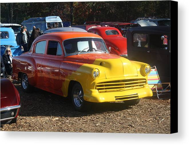 Hot Rod Canvas Print featuring the photograph New Car Smell by Kevin Sherf