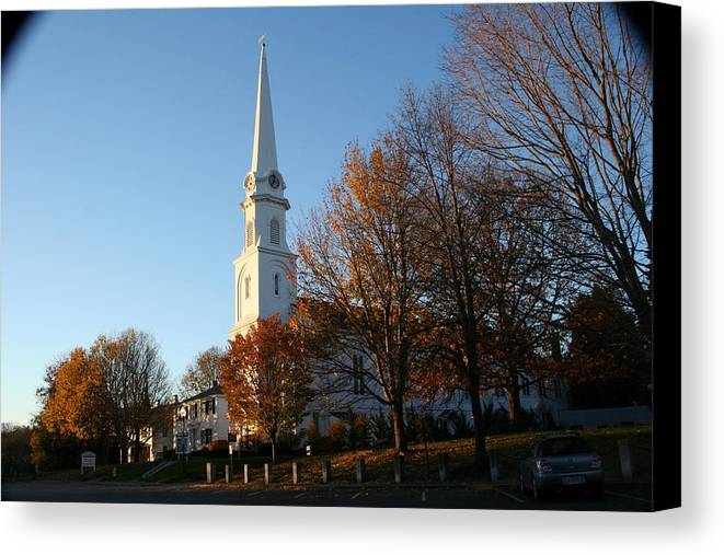 Landscape Canvas Print featuring the photograph New England by Doug Mills