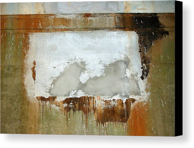 Abstract Canvas Print featuring the photograph Nj Abstract Two by Heather S Huston