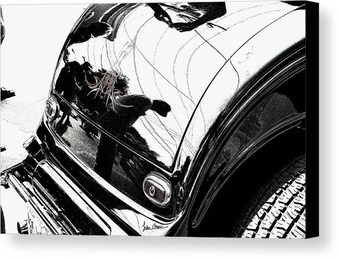 Hot Rod Canvas Print featuring the photograph No. 1 by Luke Moore