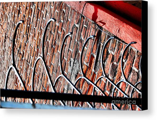 Security Canvas Print featuring the photograph Nola Security4 by Jessa DeNuit