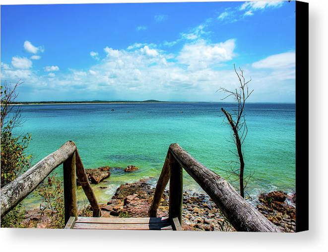 Noosa Canvas Print featuring the photograph Noosa by Cameron Richardson