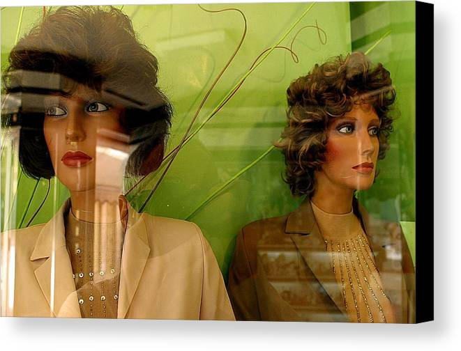 Jez C Self Canvas Print featuring the photograph Not Talking by Jez C Self