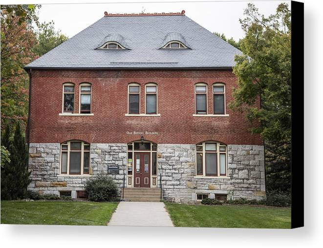 Penn State Canvas Print featuring the photograph Old Botany Building Penn State by John McGraw