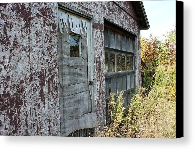 Cherry Store Canvas Print featuring the photograph Old Door County Cherry Store by Nikki Vig