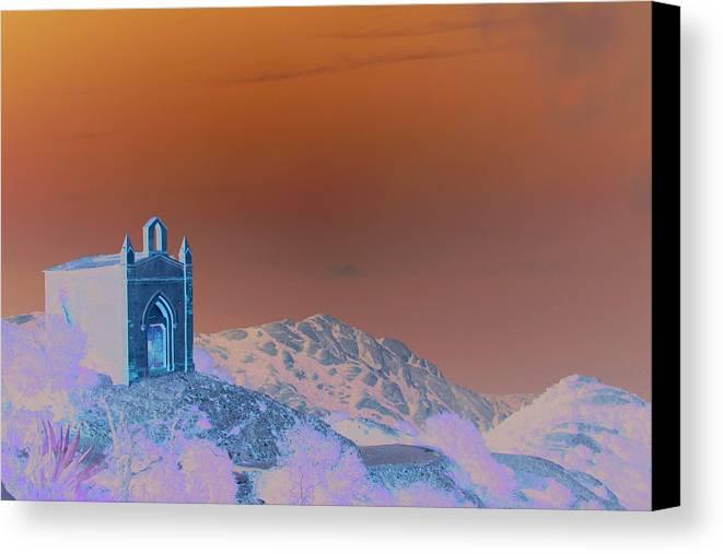 Montserrat Canvas Print featuring the photograph On Top Of Montserrat by Jason Hochman