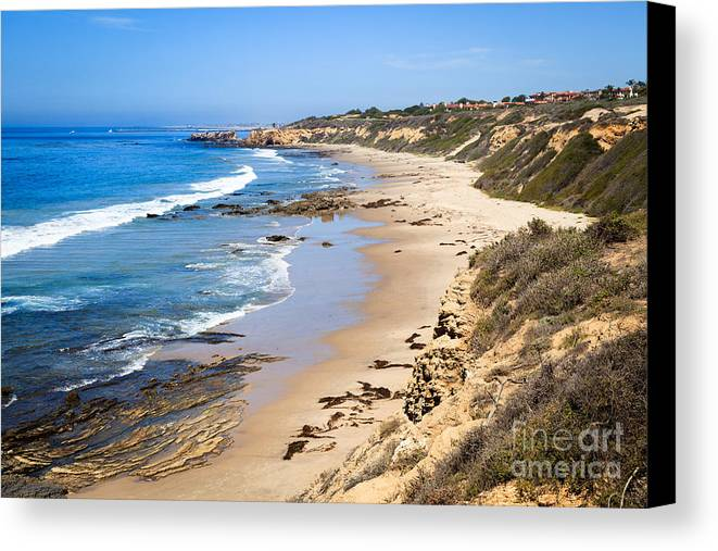America Canvas Print featuring the photograph Orange County California by Paul Velgos