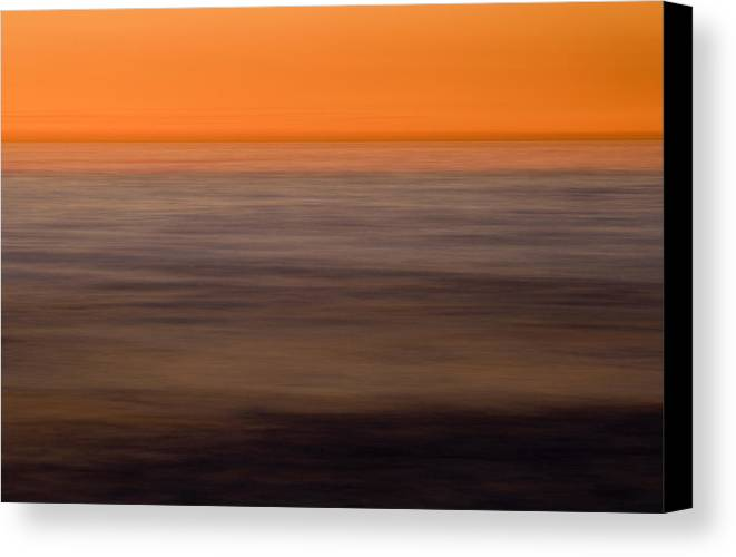 Color Canvas Print featuring the photograph Pacific Abstracted by Brad Rickerby