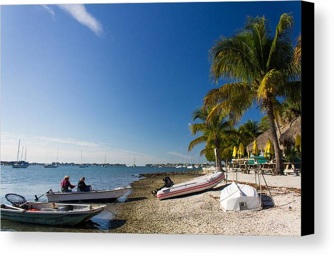 Marina Jacks Canvas Print featuring the photograph Paradise by Michael Tesar