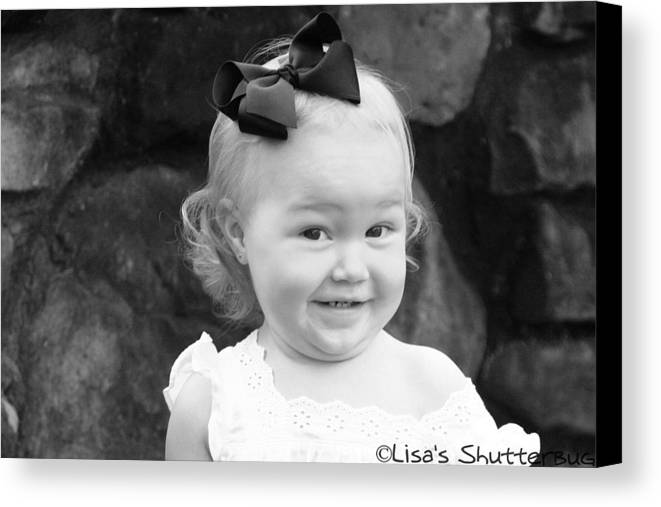 Canvas Print featuring the photograph Parker 3 by Lisa Johnston