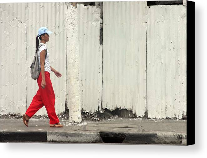Photographer Canvas Print featuring the photograph Passing 3 by Jez C Self