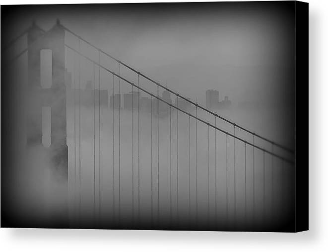 San Francisco Canvas Print featuring the photograph Play Misty For Me by Edward Kreis