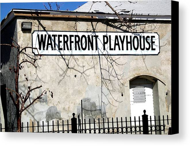 Building Canvas Print featuring the photograph Playhouse by Mary Haber