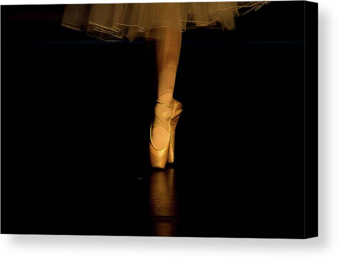 Dance Canvas Print featuring the photograph Pointe by Starr Shepherd