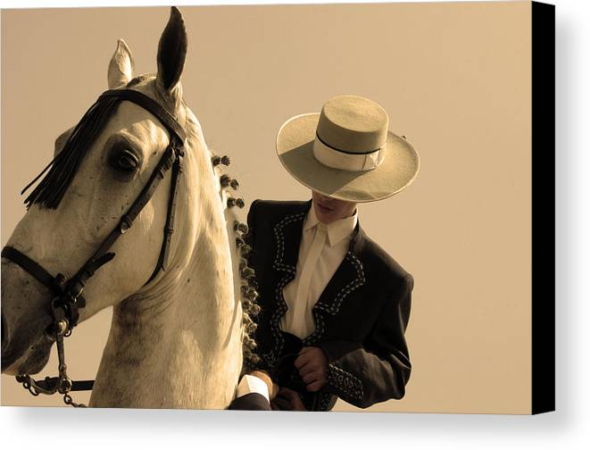 Photographer Canvas Print featuring the photograph Prepared by Jez C Self