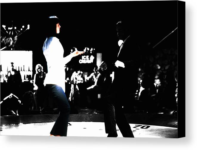 Pulp Fiction Dance 17z Canvas Print / Canvas Art by Brian Reaves