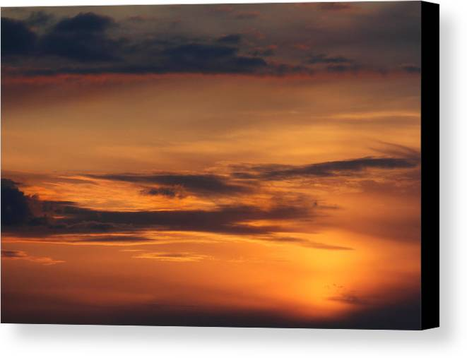 Clouds Canvas Print featuring the photograph Reach For The Sky 10 by Mike McGlothlen