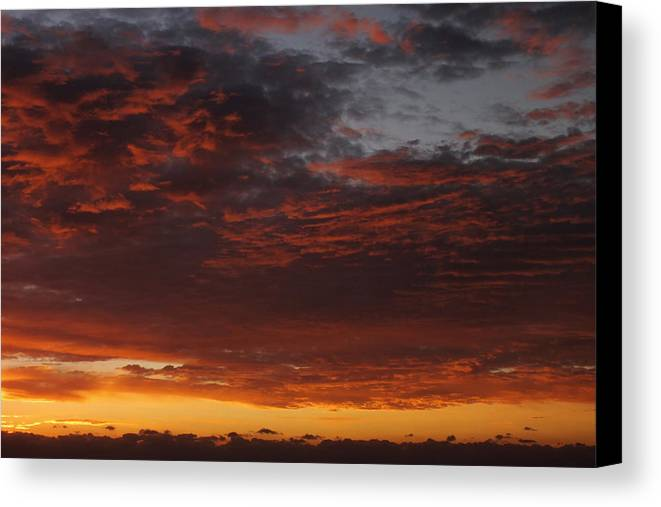 Sunset Canvas Print featuring the photograph Reach For The Sky 12 by Mike McGlothlen