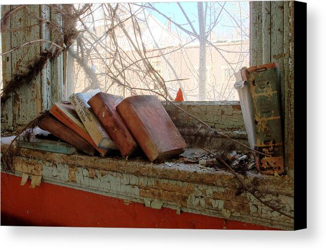Abandonment Canvas Print featuring the photograph Read by Kevin Brett