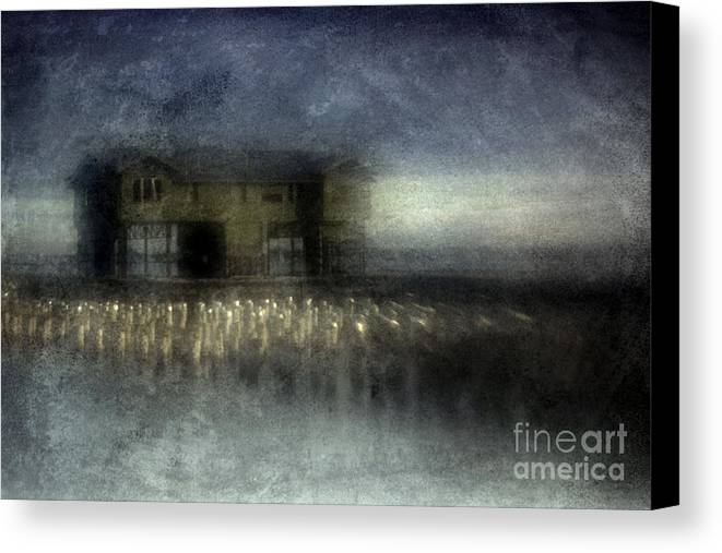 Blue Canvas Print featuring the photograph Recurrent Dream by Andrew Paranavitana