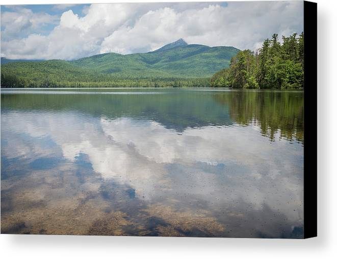 Chocorua Lake Canvas Print featuring the photograph Reflections by Debbie Gracy