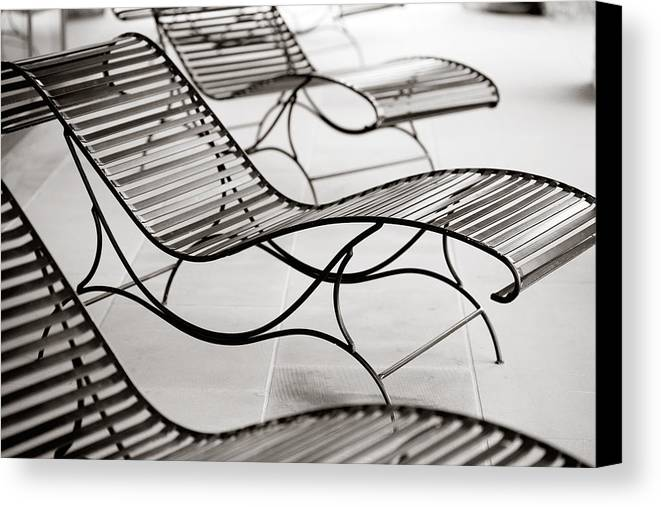 Chair Canvas Print featuring the photograph Relaxation by Marilyn Hunt