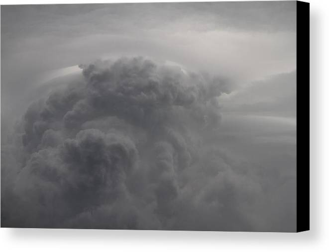 Clouds Canvas Print featuring the photograph Roiling Storm IIi by Benji Alexander Palus