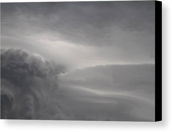 Clouds Canvas Print featuring the photograph Roiling Storm V by Benji Alexander Palus