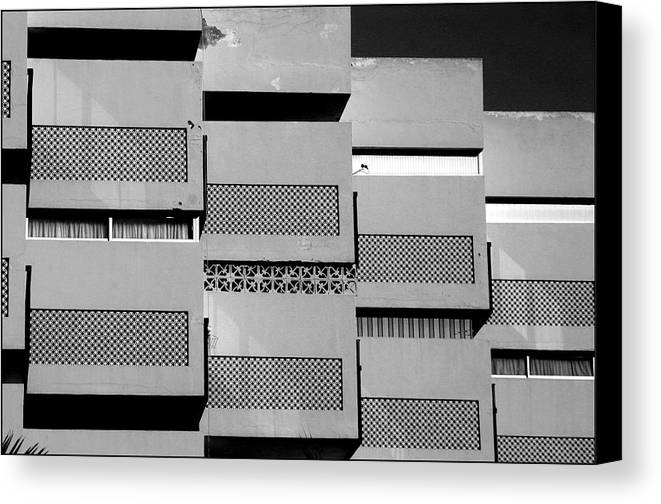 Photographer Canvas Print featuring the photograph Roquettas 11 by Jez C Self