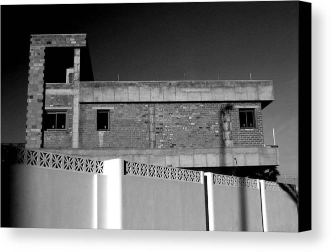 Photographer Canvas Print featuring the photograph Roquettas 63 by Jez C Self