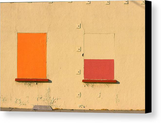 Oakland Canvas Print featuring the photograph Rothko Wall Oakland by Art Ferrier