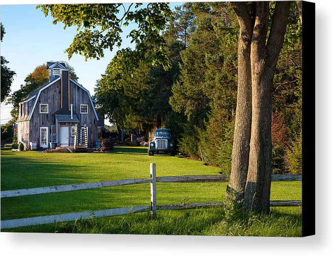 Long Island Canvas Print featuring the photograph Rural by Alex Kotlik