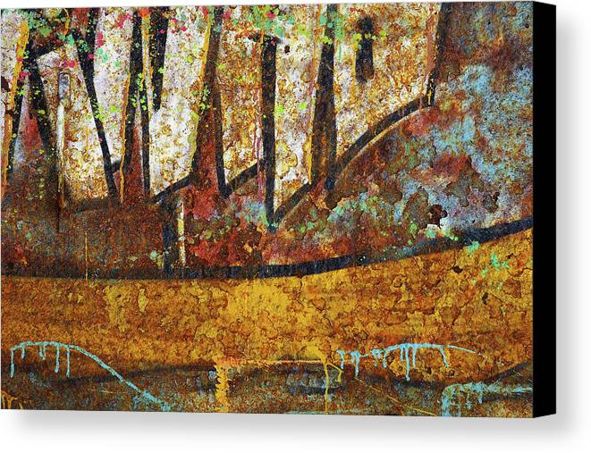 Abandoned Canvas Print featuring the photograph Rust Colors by Carlos Caetano