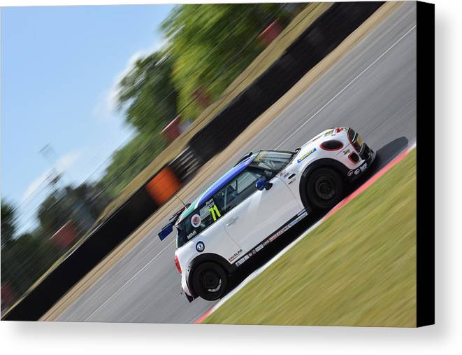 Brands Hatch Canvas Print featuring the photograph Ryan Rhode Mini Festival by Stephen Hulme