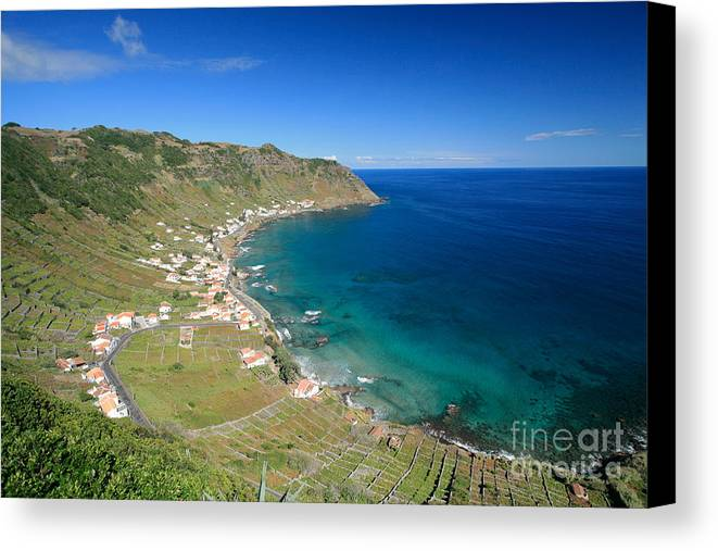 Azores Canvas Print featuring the photograph Santa Maria Azores II by Gaspar Avila