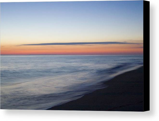 Nantucket Canvas Print featuring the photograph Sciasconset Morning Nantucket by Henry Krauzyk