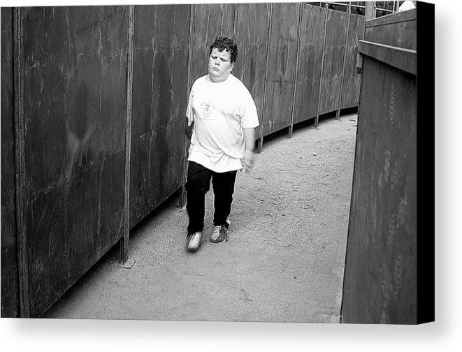 Photographer Canvas Print featuring the photograph Scot by Jez C Self