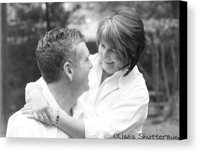 Canvas Print featuring the photograph Scott And Sandi 2 by Lisa Johnston