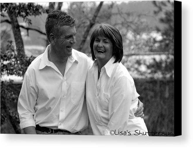 Canvas Print featuring the photograph Scott And Sandi 3 by Lisa Johnston