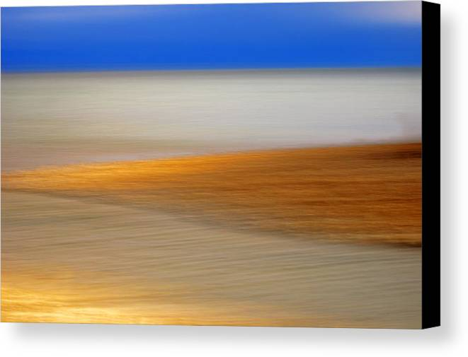 Landscape Canvas Print featuring the photograph Seascape by Silke Magino