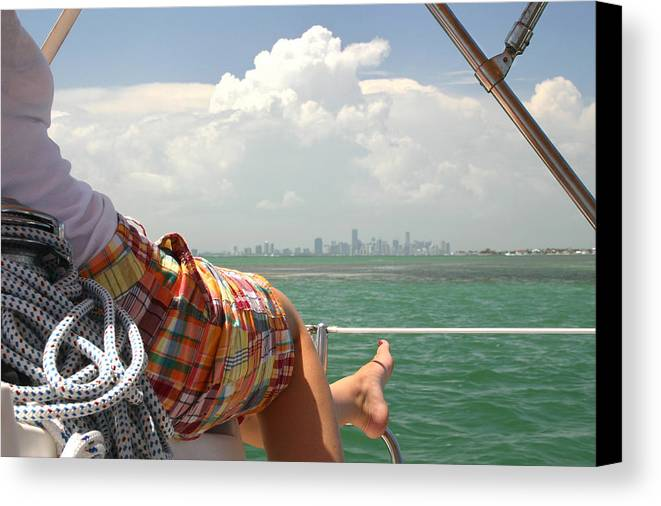 Miami Canvas Print featuring the photograph See It Like A Native by Matt Tilghman