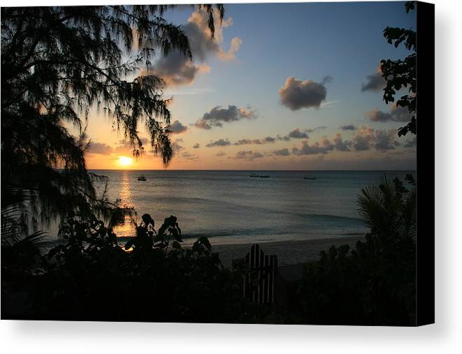 Sunsets Canvas Print featuring the photograph Serenity by Taylor Howe