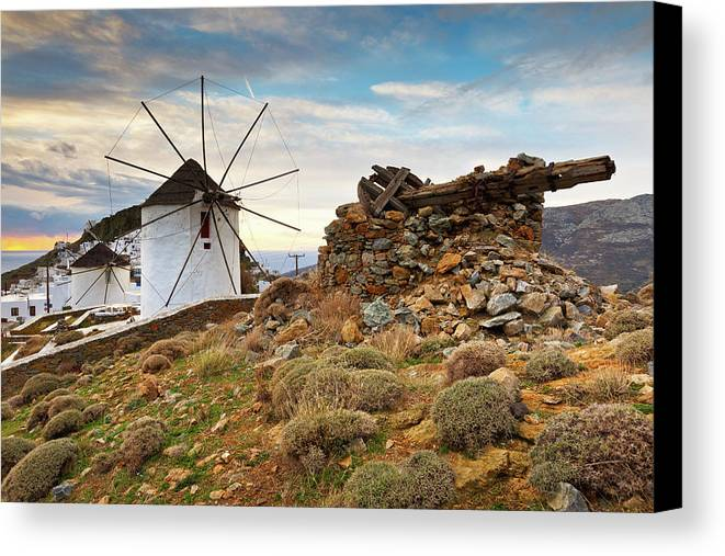 Europe Canvas Print featuring the photograph serifos 'VII by Milan Gonda