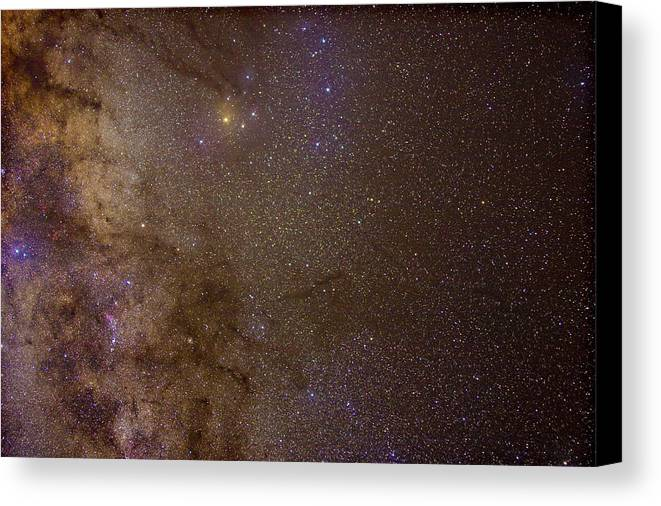 Milky Way Canvas Print featuring the photograph Southern Milky Way by Charles Warren